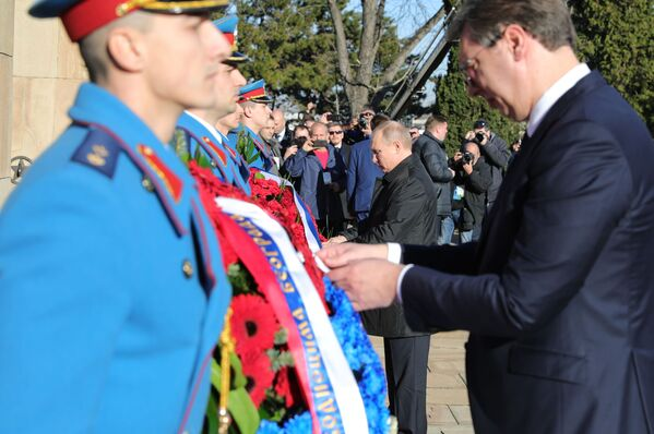 La visita di Putin in Serbia - Sputnik Italia