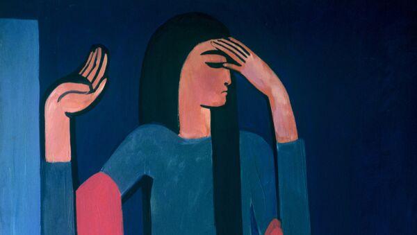 Il quadro del pittore armeno Мinas Avetisyan, Tamila - Sputnik Italia