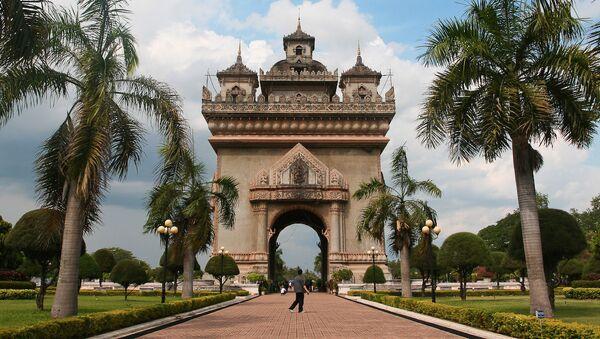 Arco di trionfo in Laos - Sputnik Italia