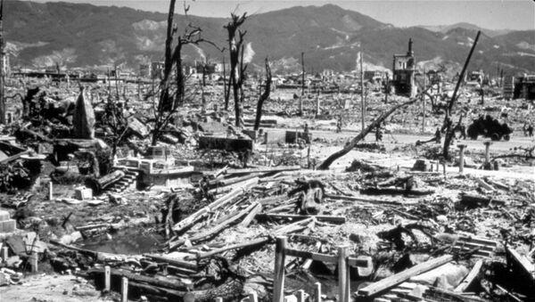 La città di Hiroshima, distrutta dalla bomba atomica americana - Sputnik Italia