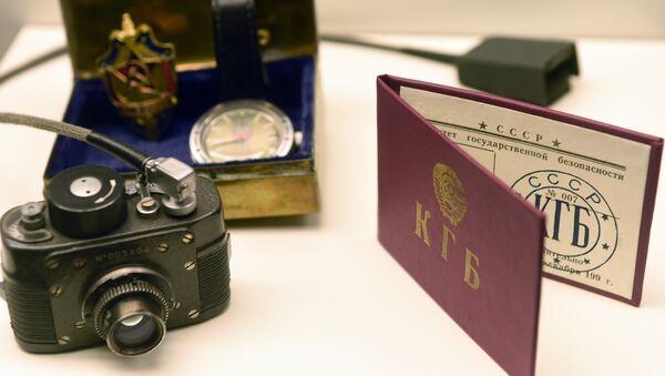 Oggetti del KGB in un museo dello spionaggio in Germania. - Sputnik Italia