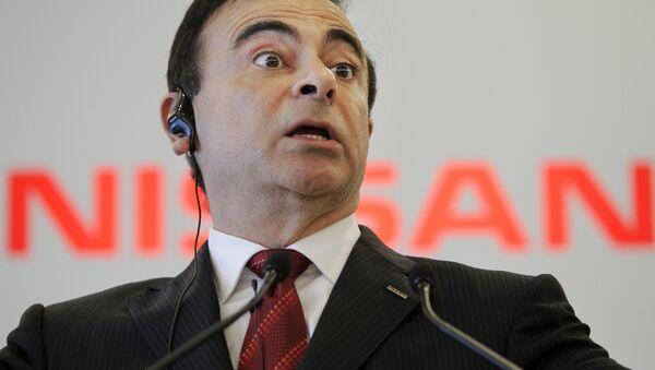 Nissan Motor Co. Chief Executive Carlos Ghosn - Sputnik Italia