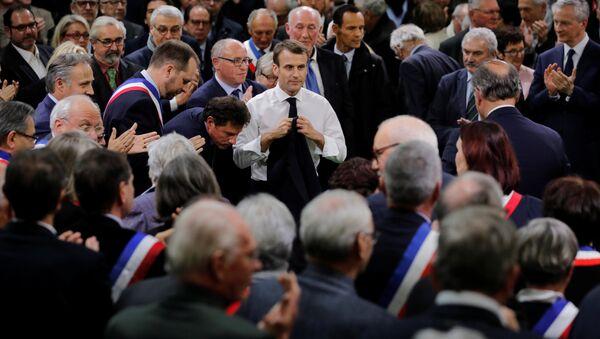 Il presidente francese Emmanuel Macron - Sputnik Italia