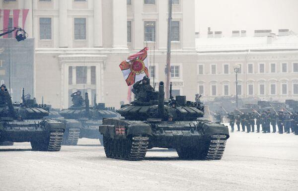 La parata del 75° della liberazione di Leningrado - Sputnik Italia