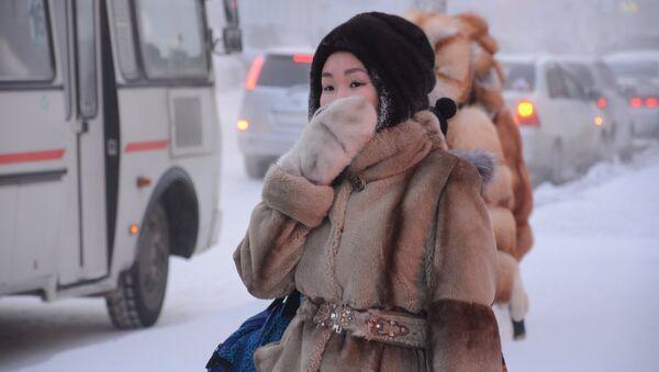 Inverno a Jakutsk - Jacuzia - Sputnik Italia