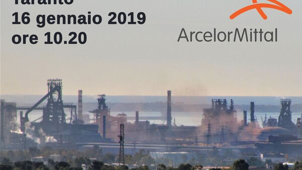 Lo stabilimento siderurgico a Taranto - Sputnik Italia