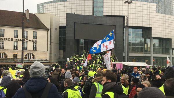 La manifestazione gilet gialli, il 2 febbraio del 2019 - Sputnik Italia