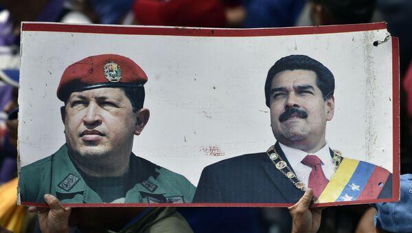 Manifestazione a Caracas filo-governativa - Sputnik Italia