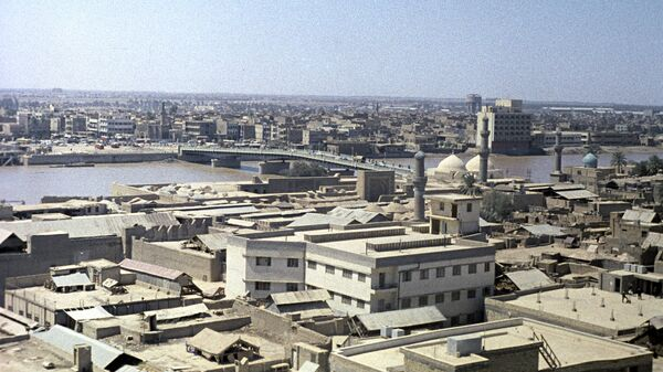 La veduta di Baghdad, la capitale dell'Iraq. (Foto d'archivio) - Sputnik Italia