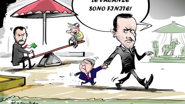 Le vacanze sono finite - Sputnik Italia