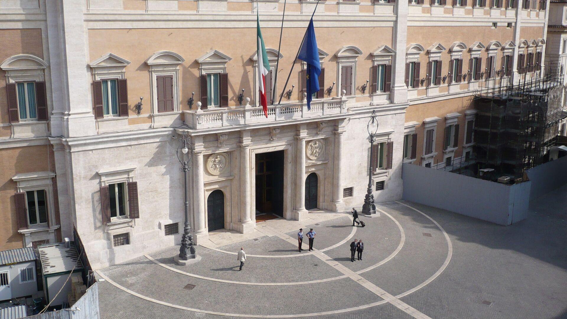 Palazzo Montecitorio. - Sputnik Italia, 1920, 05.08.2021
