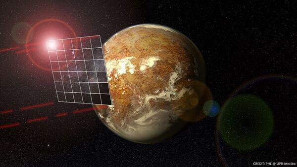 Una vela solare secondo un pittore - Sputnik Italia