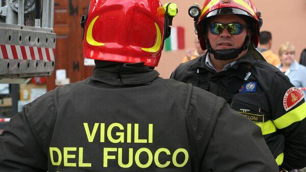 I Vigili del Fuoco italiani - Sputnik Italia
