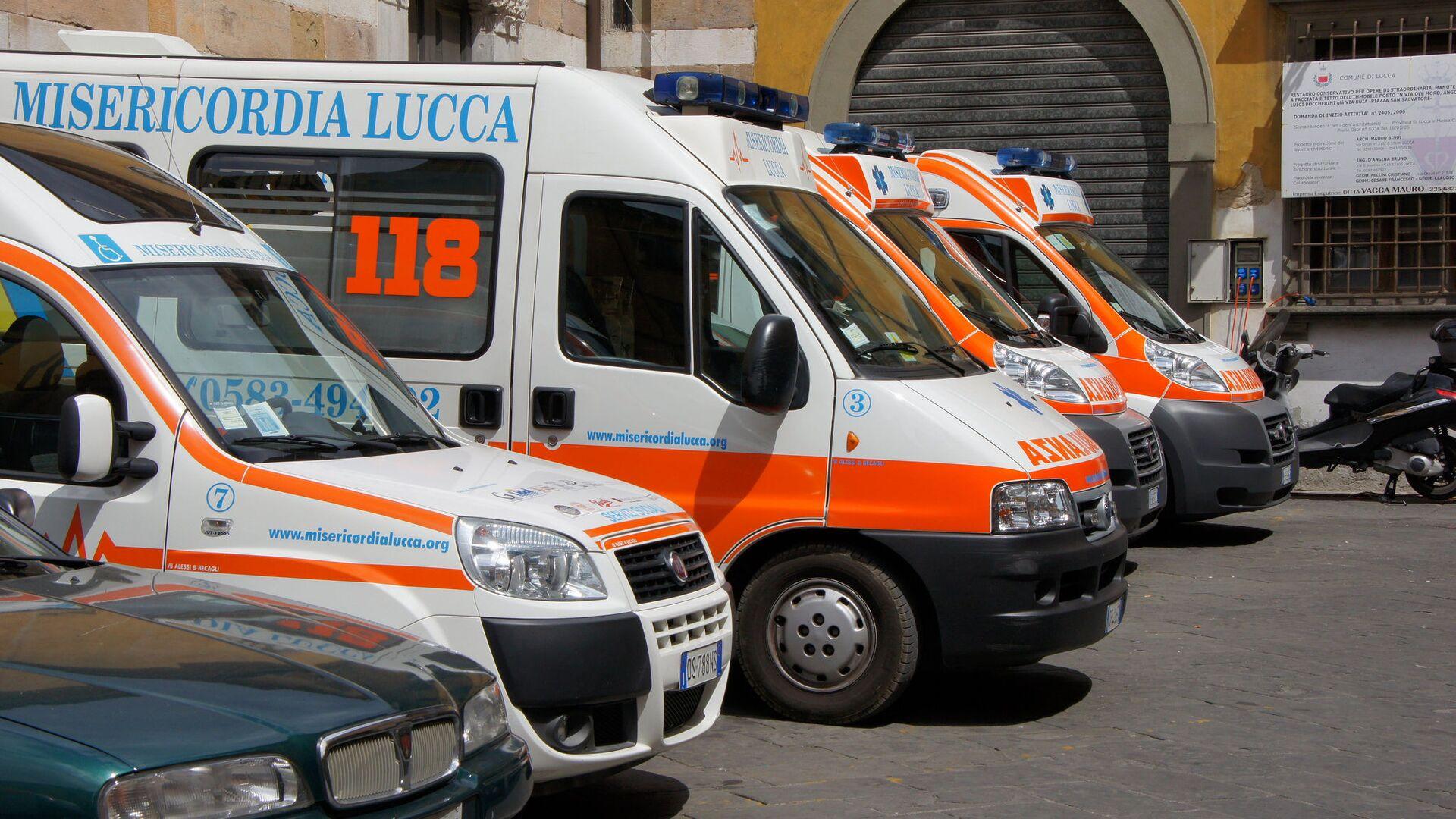 Ambulanze italiane - Sputnik Italia, 1920, 28.09.2021
