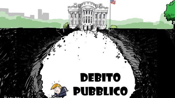 Nuovo record storico per il debito pubblico statunitense - Sputnik Italia