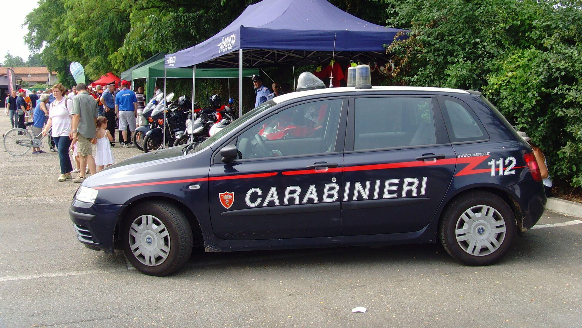 Autoveicolo dei Carabinieri - Sputnik Italia, 1920, 20.04.2021