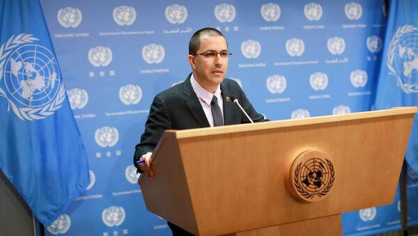 Il ministro Esteri del Venezuela Jorge Arreaza - Sputnik Italia