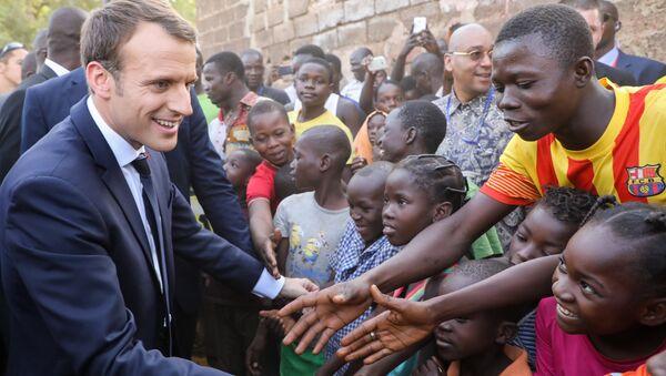 Emmanuel Macron in Burkina Faso - Sputnik Italia