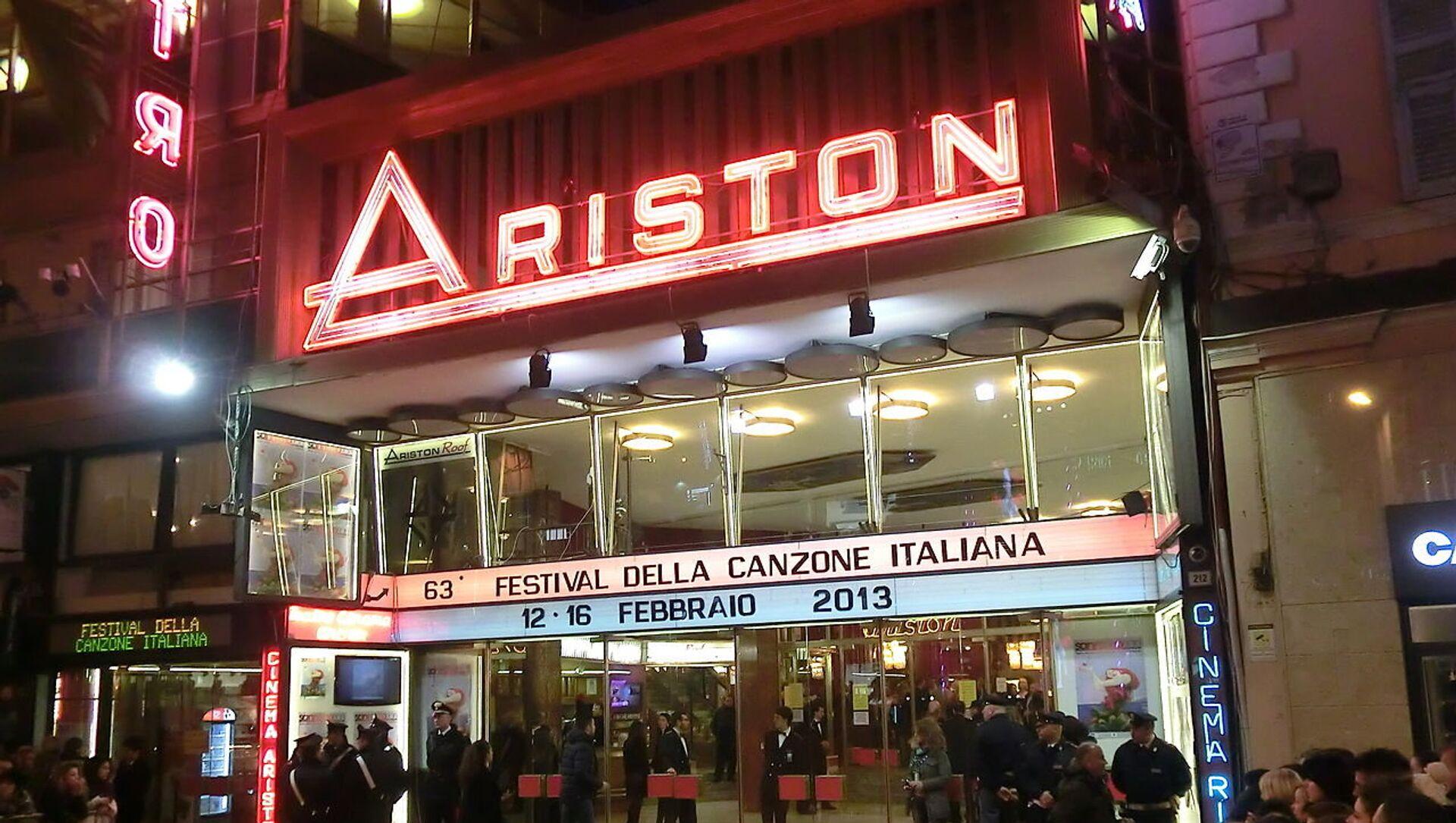 Teatro Ariston - Sanremo - Sputnik Italia, 1920, 06.02.2021