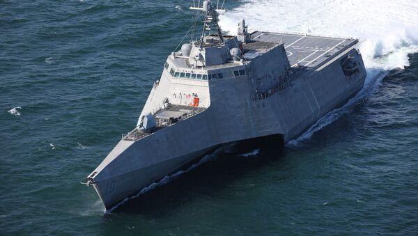 La nave costiera USS Tulsa (LCS-16) - Sputnik Italia