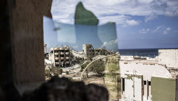 Le rovine della città libica Sirte - Sputnik Italia