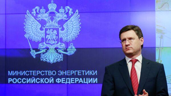 Ministro dell'energia russo Alexandr Novak - Sputnik Italia