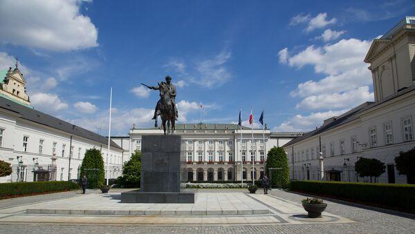 Palazzo presidenziale a Varsavia - Sputnik Italia