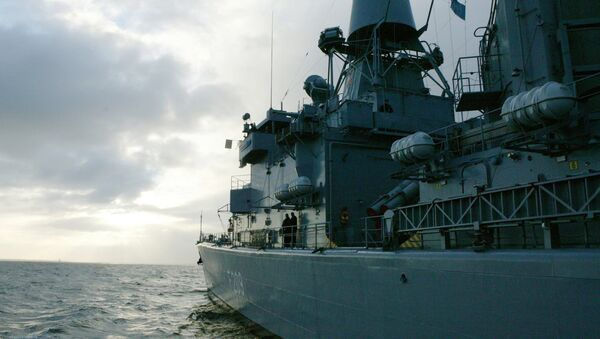 Le navi da guerra della NATO  - Sputnik Italia