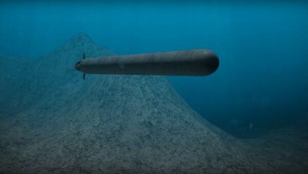 Il sistema d'arma sottomarino a controllo remoto Poseidon - Sputnik Italia