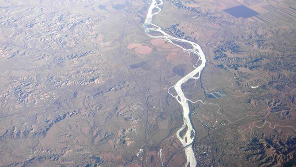 Glendive, Montana and Yellowstone River - Sputnik Italia