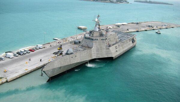 La nave USS Independence della flotta americana - Sputnik Italia