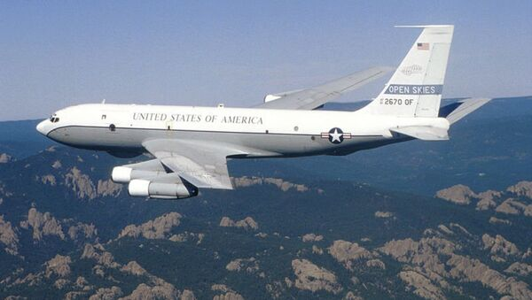 """Aereo di ricognizione USA """"OC-135B"""" - Sputnik Italia"""