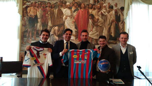 Conferenza stampa con il sindaco Pogliese - Sputnik Italia