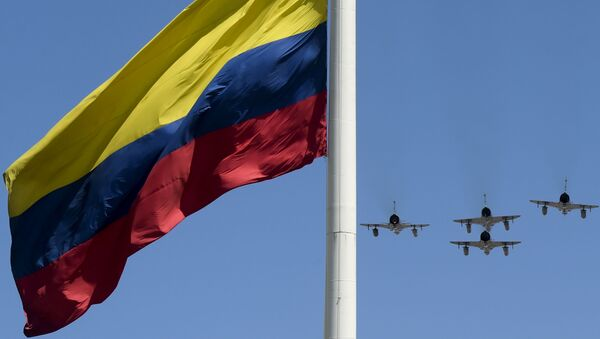 La bandiera della Colombia - Sputnik Italia
