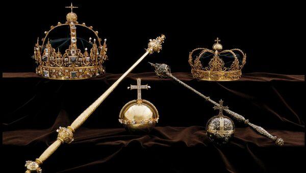 I gioielli della Famiglia Reale della Svezia del Settecento (foto d'archivio) - Sputnik Italia