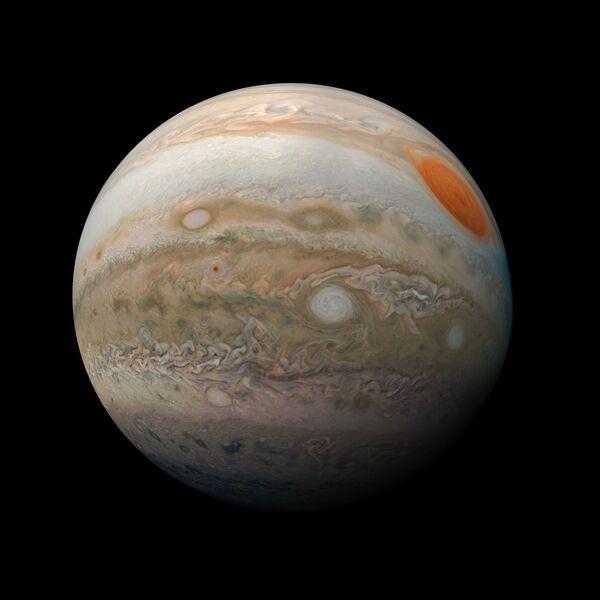 Nouva foto di Giove scattata dalla sonda Juno della NASA. - Sputnik Italia