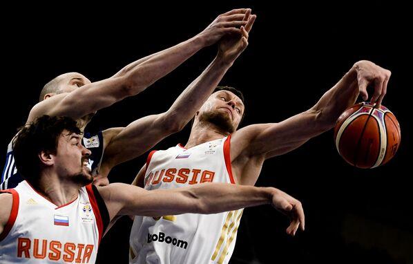 Partita di pallacanestro tra Finlandia e Russia. - Sputnik Italia