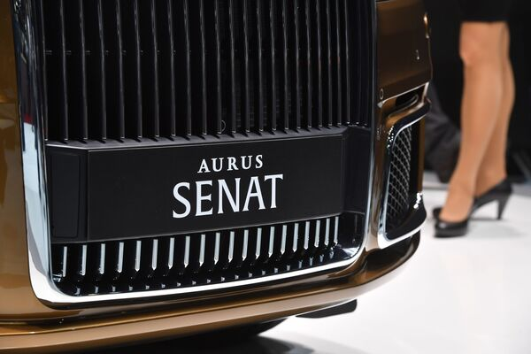 Aurus Senat 600 al Salone di Ginevra. - Sputnik Italia