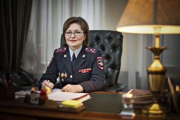Il capo della Direzione generale di migrazioni del ministero degli Interni russo Olga Kirillova. - Sputnik Italia