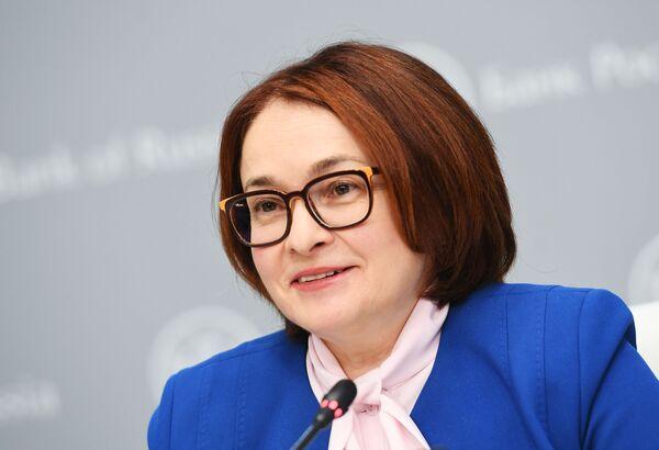 La presidente della Banca centrale russa Elvira Nabiullina. - Sputnik Italia