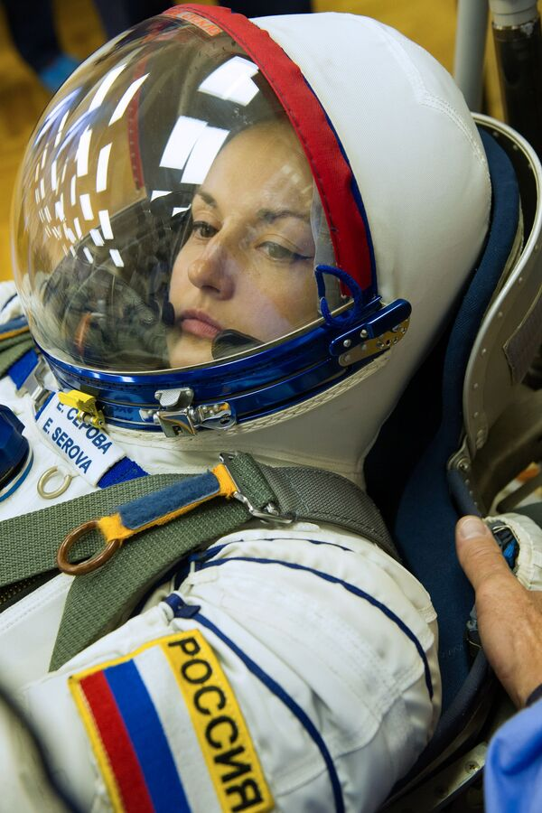La cosmonauta Elena Serova. - Sputnik Italia