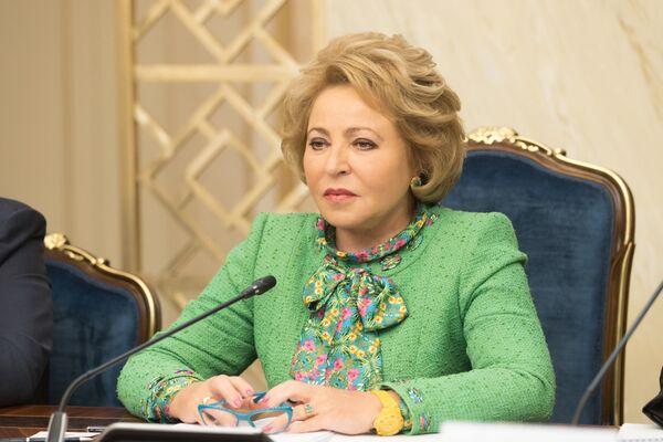 La presidente del Consiglio della Federazione russo Valentina Matviyenko. - Sputnik Italia