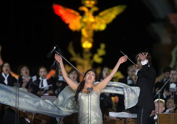 Anna Netrebko, un soprano di fama mondiale. - Sputnik Italia