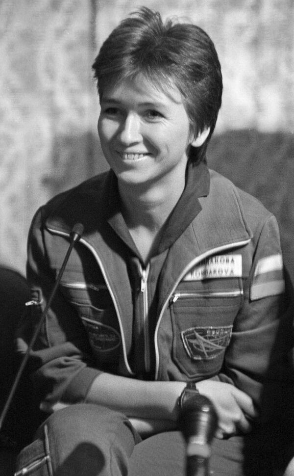 La pilota spaziale Elena Kondakova. - Sputnik Italia