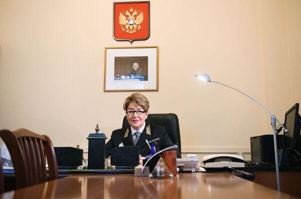 L'ambasciatore straordinario e plenipotenziario russo Eleonora Mitrofanova. - Sputnik Italia