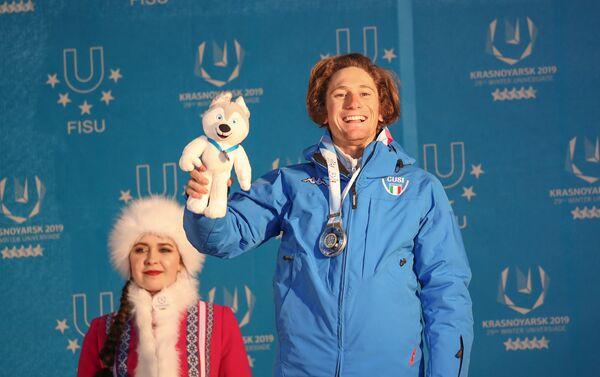 Alberto Blengini, argento nello slalom gigante - Sputnik Italia