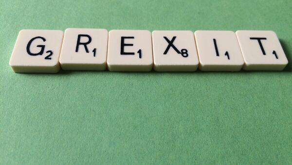 Grexit Scrabble - Sputnik Italia