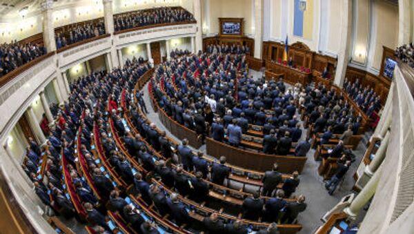 Riunione della Verchovna Rada in Ucraina - Sputnik Italia