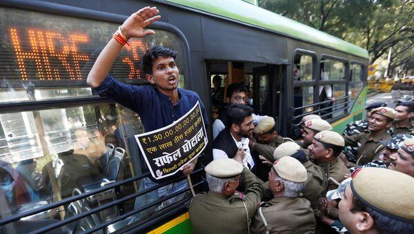 L'arresto degli attivisti in India - Sputnik Italia