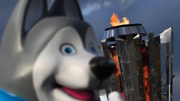 U-Laika, la mascotte delle Universiadi di Krasnoyarsk 2019 - Sputnik Italia
